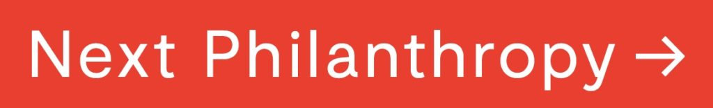 logo next philanthropy red