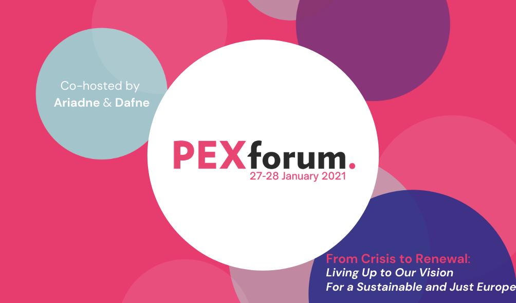 pexforum 2021 poster